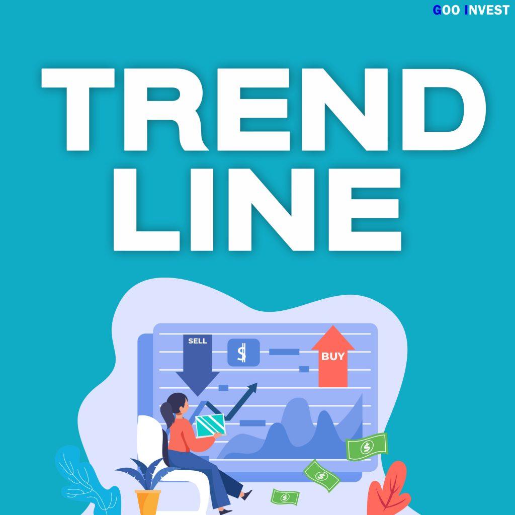 Trend Line เทรนไลน์ การตีเทรนไลน์ แนวโน้ม ขาขึ้น Low to Higher Low support แนวรับ หน้าปก Goo Invest